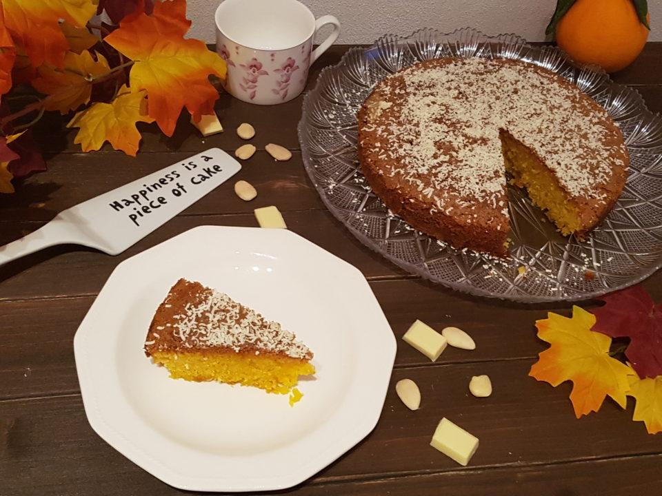 (Italiano) Torta mandorle, arance e cioccolato