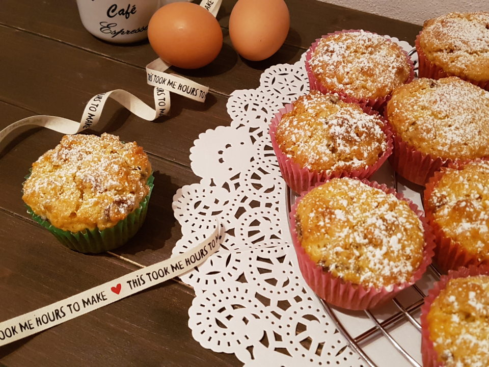 (Italiano) Muffin al panettone