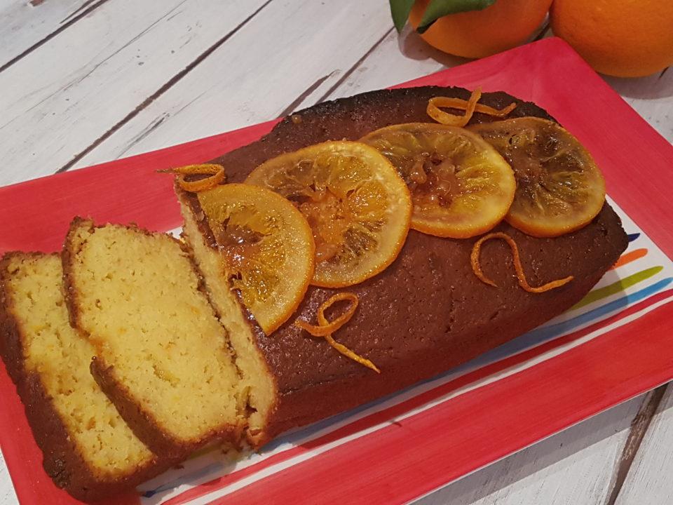 (Italiano) Pan d'arancio alle mandorle