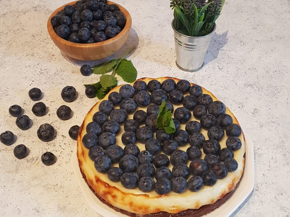 (Italiano) Crostata ricotta e mirtilli