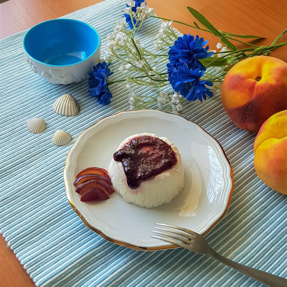 (Italiano) Bavarese allo yogurt e miele