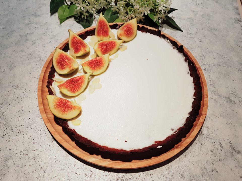 (Italiano) Crostata senza glutine ai fichi e mandorle