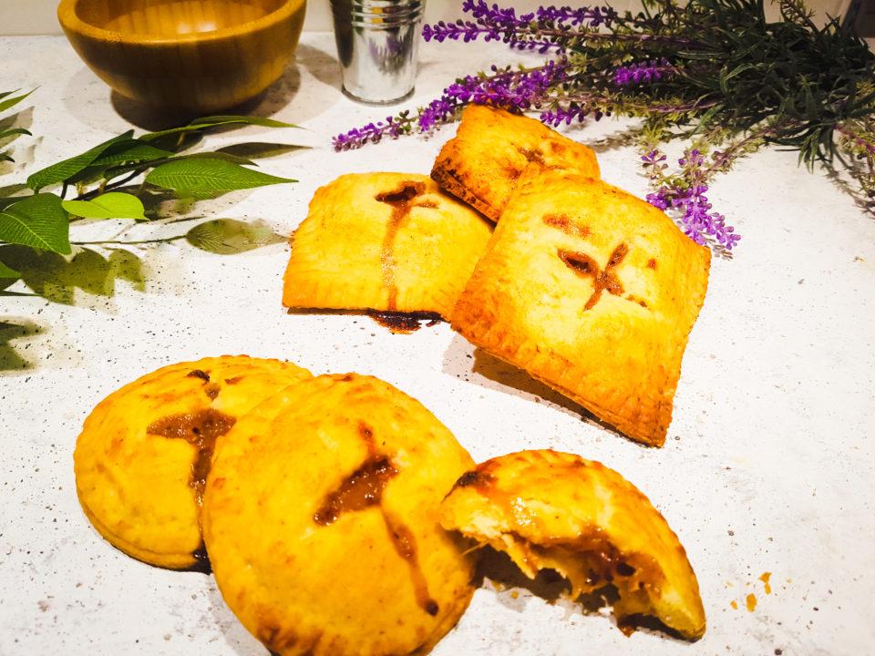 (Italiano) Hand pies vegane alle pesche