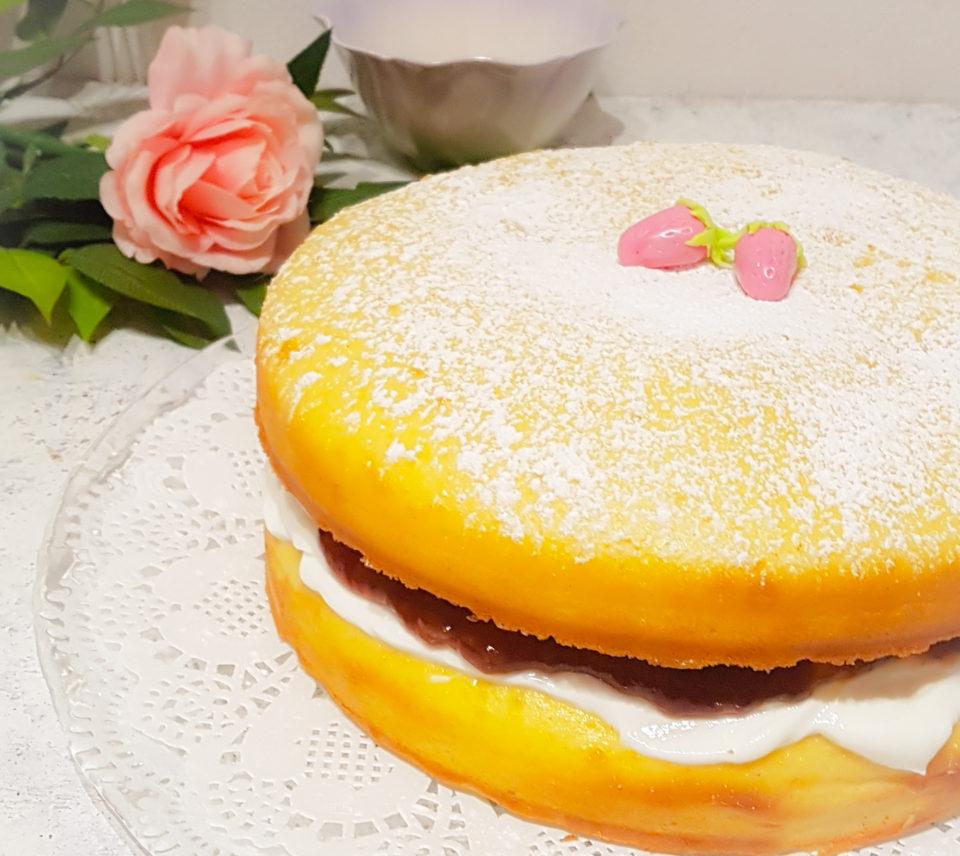 Sandwich cake allo skyr