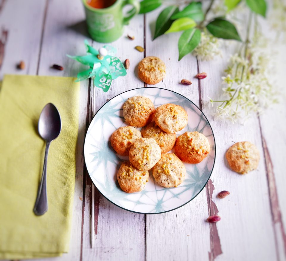 (Italiano) Biscotti senza glutine al pistacchio