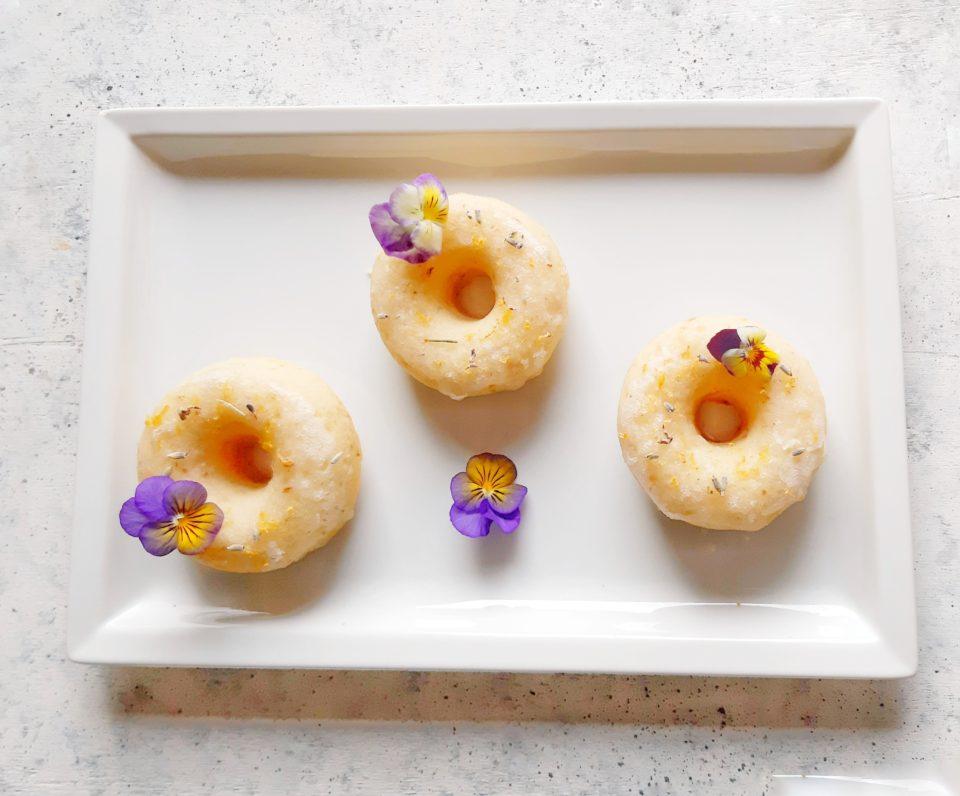 (Italiano) Ciambelline vegane lavanda e limone