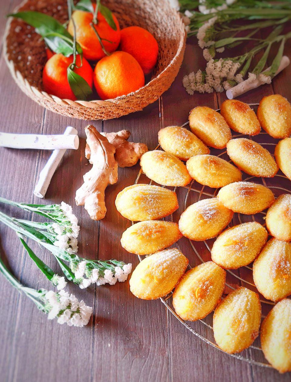 (Italiano) Madeleines all'arancia e zenzero
