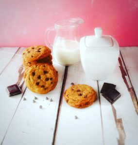 (Italiano) Chocolate chip cookies vegan