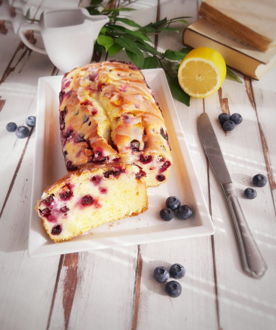 (Italiano) Plumcake ai mirtilli e limone senza glutine