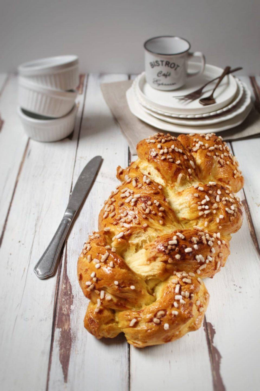 Pan brioche ai fiori d'arancio