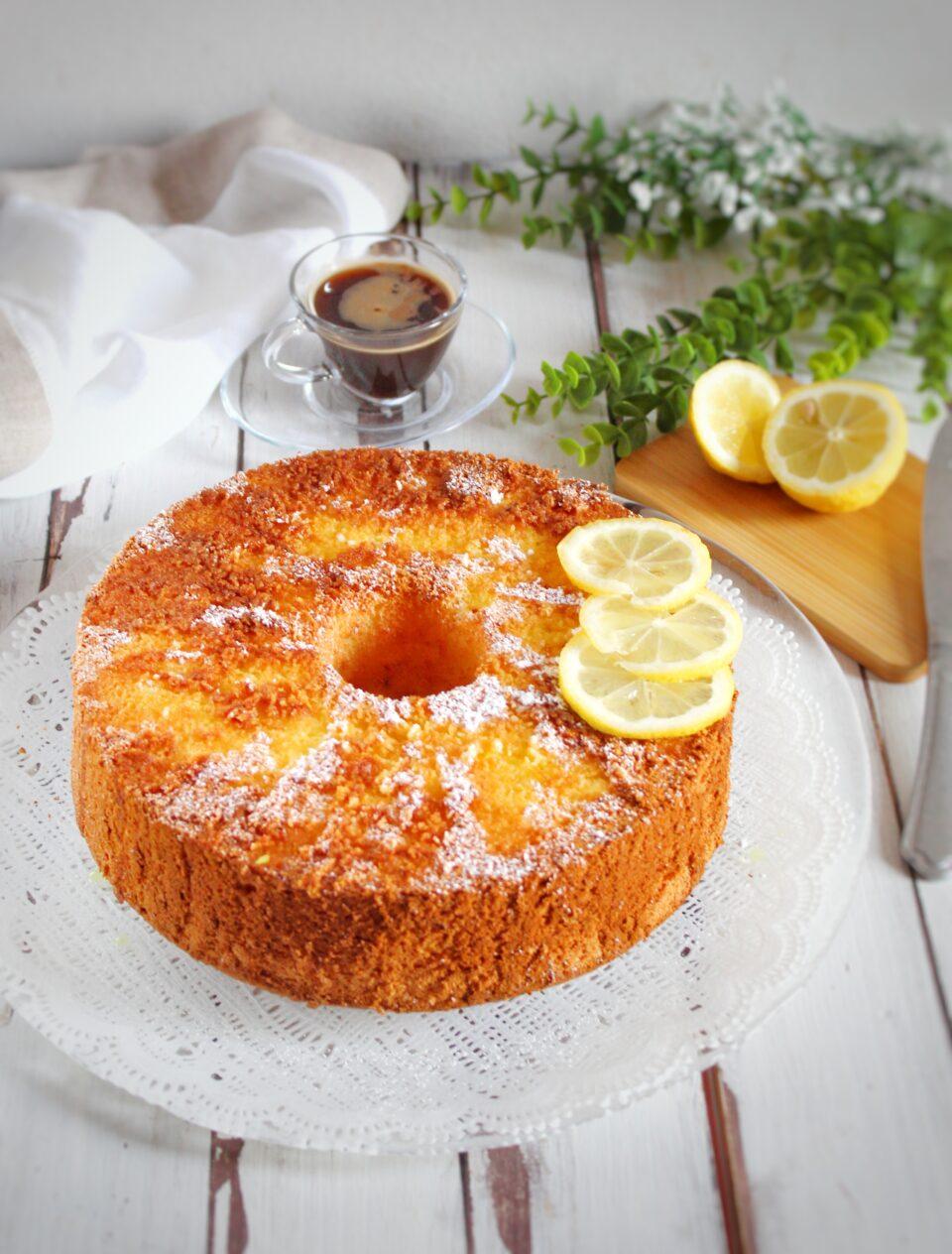 (Italiano) Chiffon cake cocco e limone