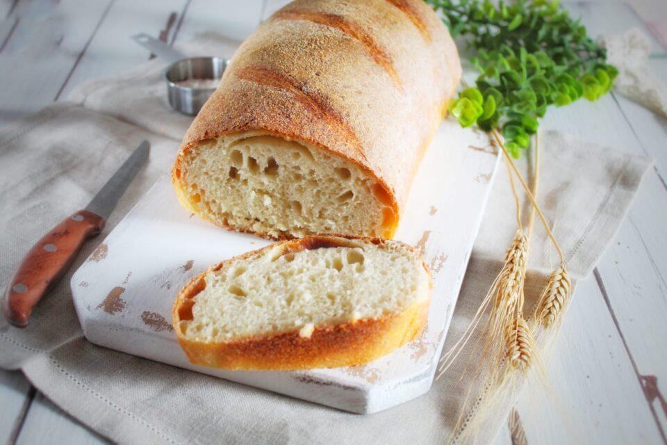 (Italiano) Pane di farina di semola con lievito madre