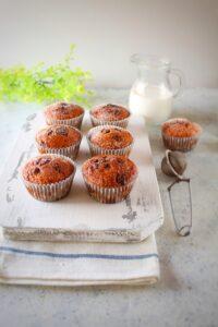 (Italiano) Muffin al cioccolato e cocco