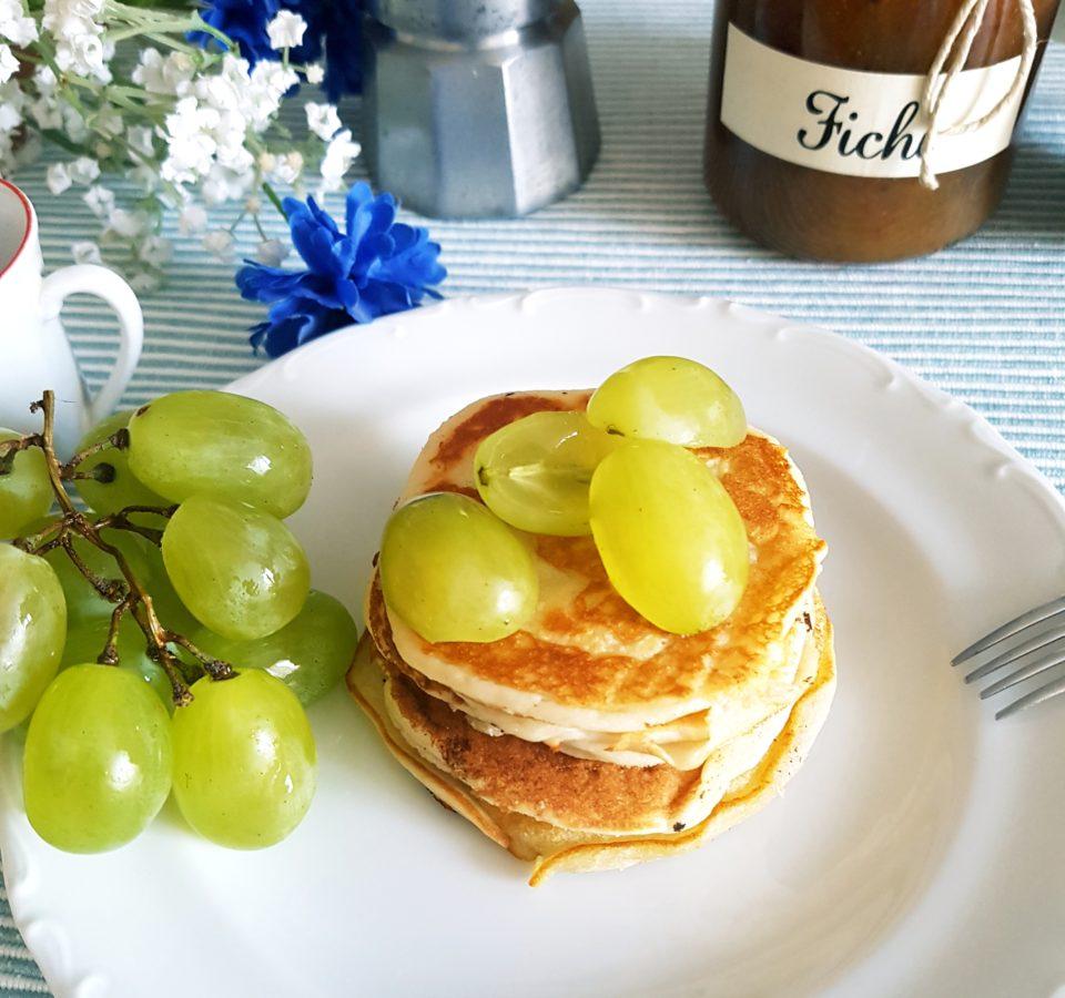 (Italiano) Pancakes alla ricotta