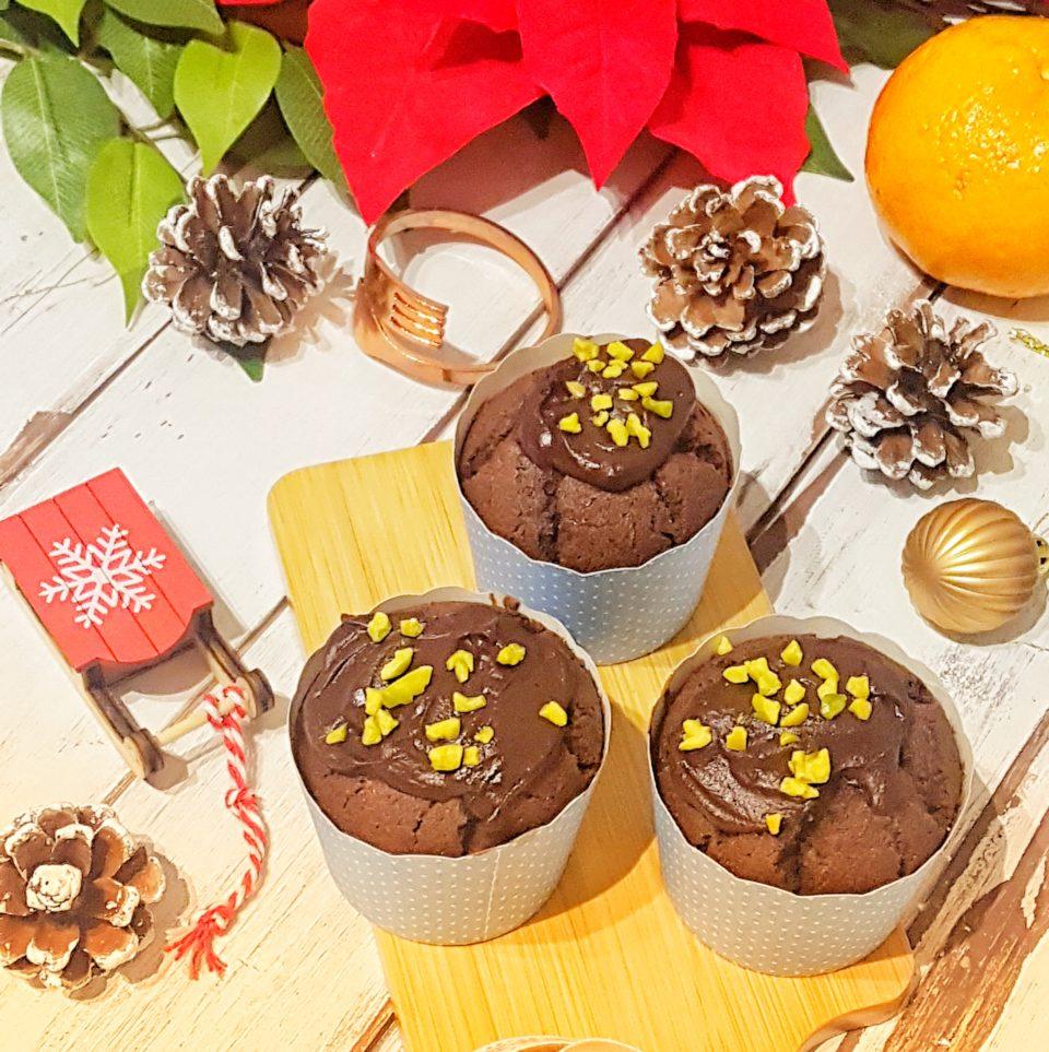 (Italiano) Muffin al cioccolato e arancia senza glutine