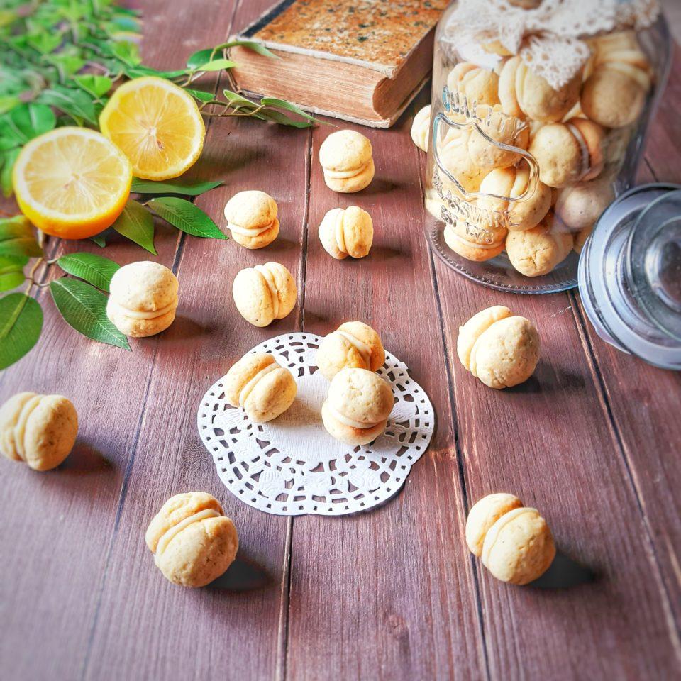 (Italiano) Baci di dama al limone o amalfitani