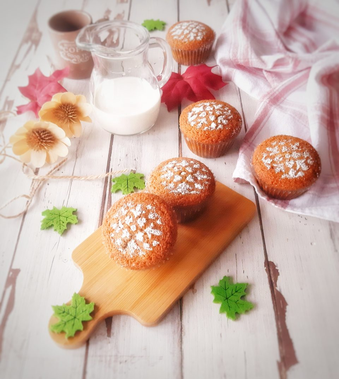 (Italiano) Muffin al grano saraceno e mandorle