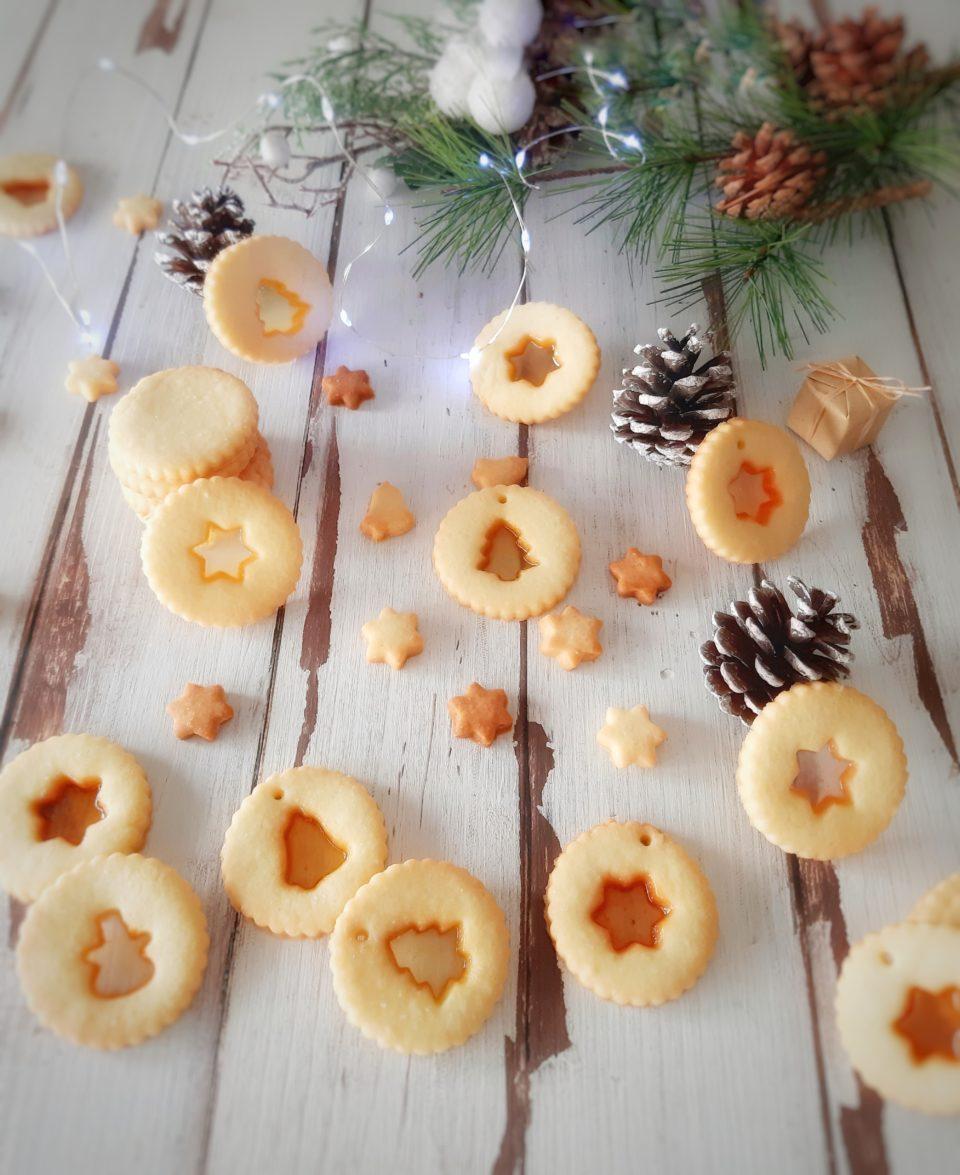 (Italiano) Glass cookies ovvero biscotti al vetro