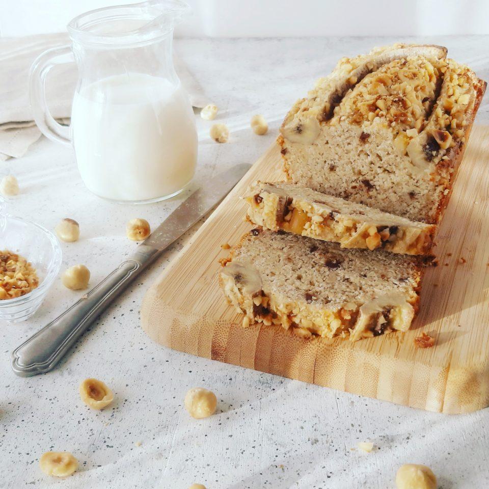 (Italiano) Banana bread vegano