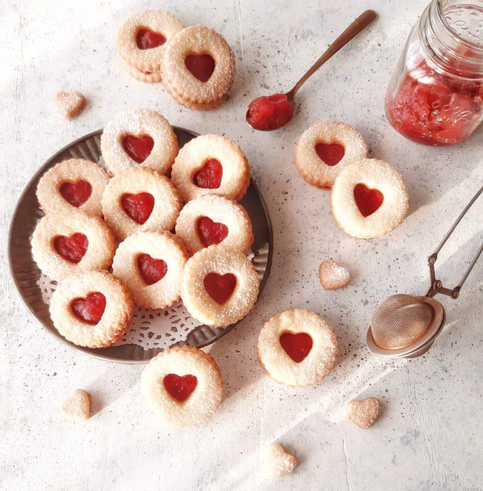 (Italiano) Biscotti di frolla di San Valentino