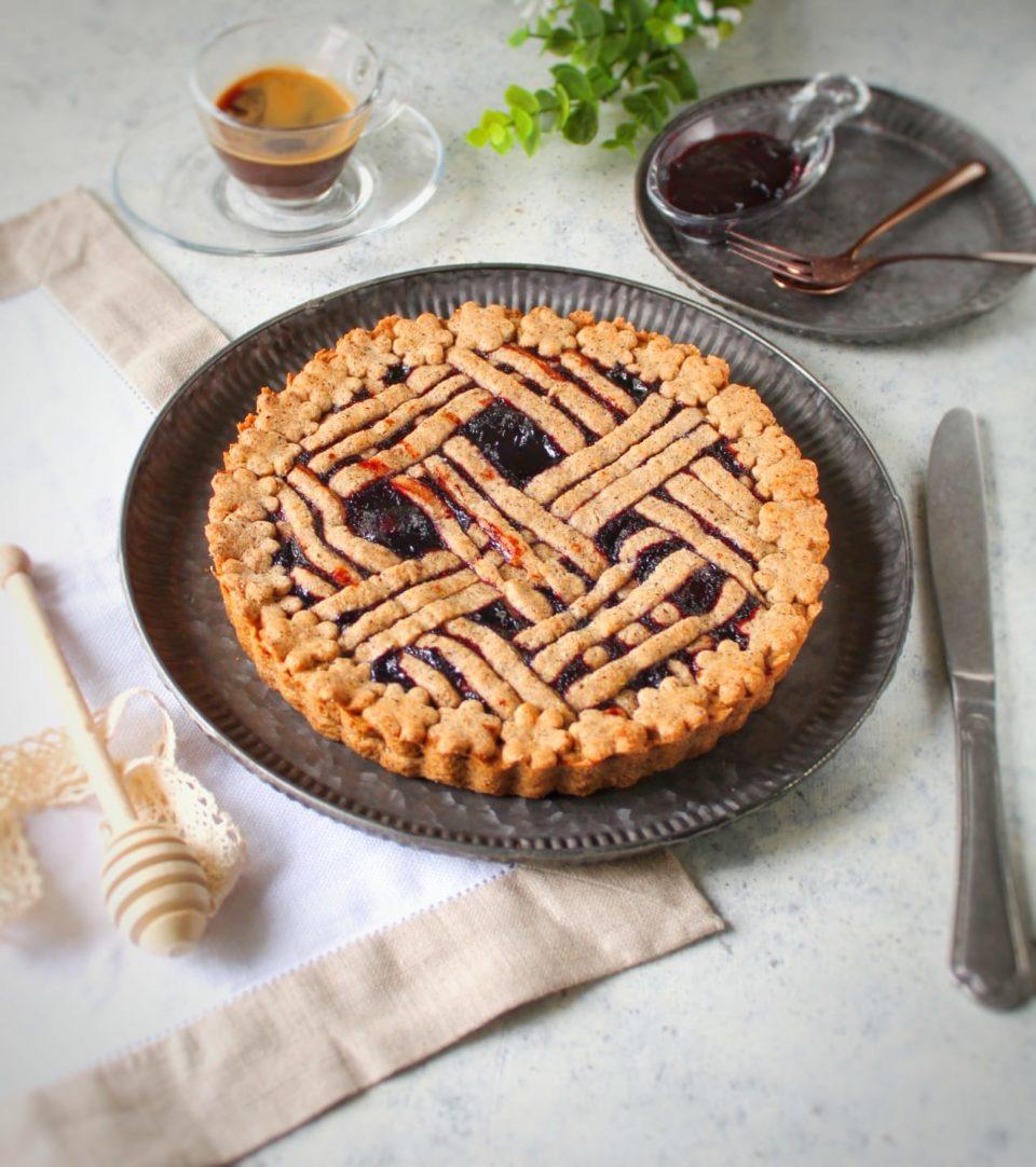 (Italiano) Crostata di grano saraceno alla marmellata