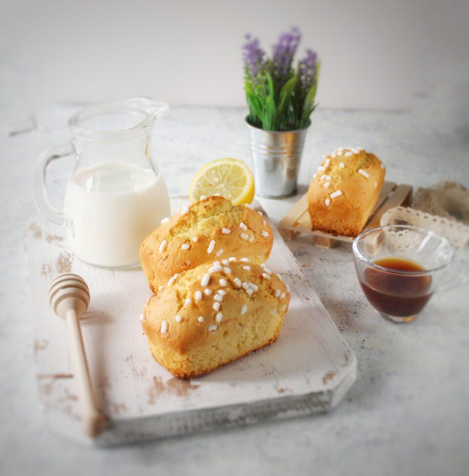 (Italiano) Mini plumcake al limone e lavanda