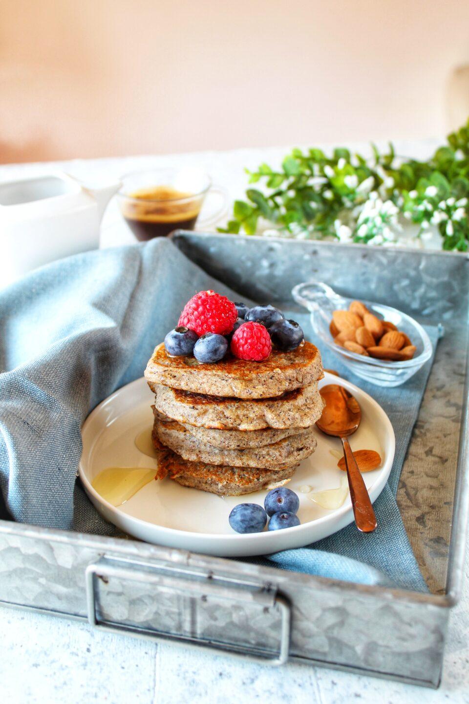(Italiano) Pancakes al grano saraceno vegan e senza glutine