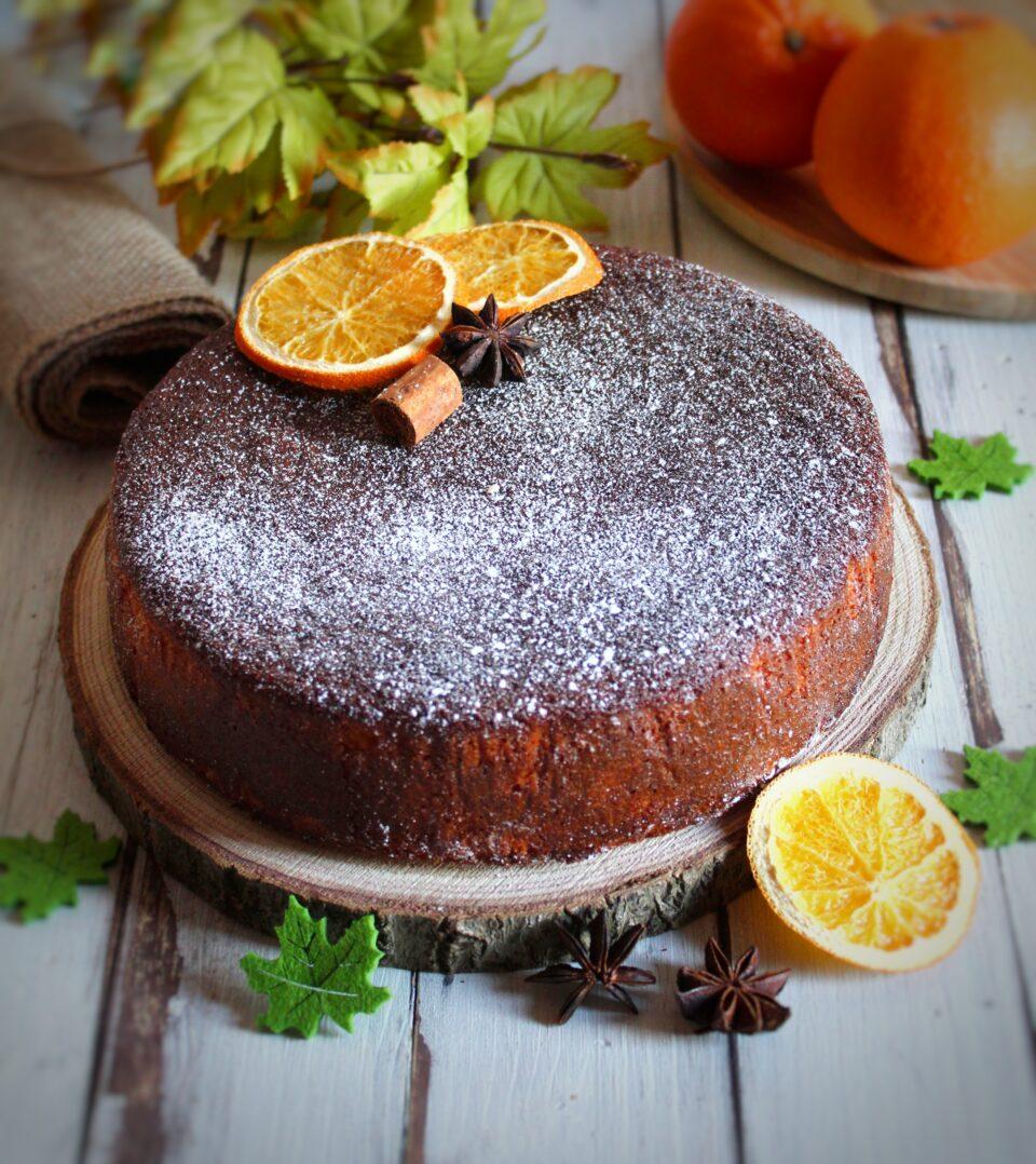 (Italiano) Orange cake senza glutine