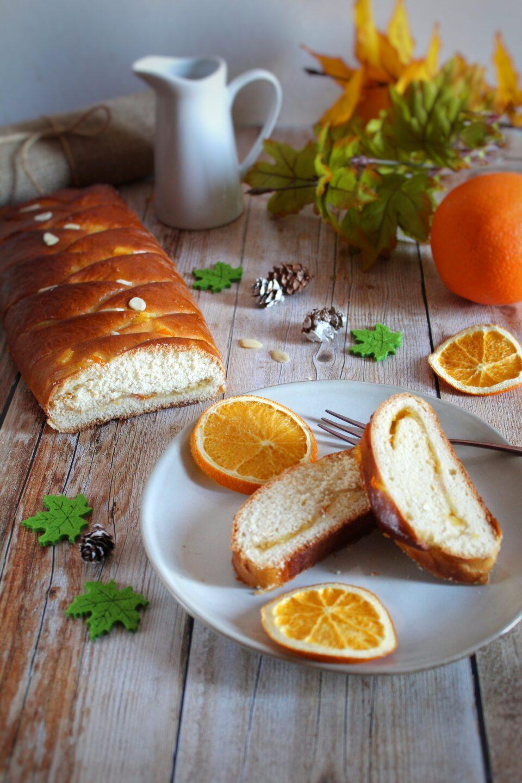 (Italiano) Treccia lievitata all'arancia