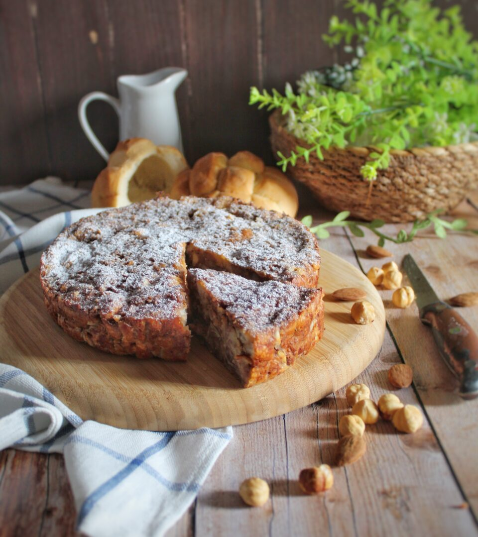 (Italiano) Torta di pane al cacao