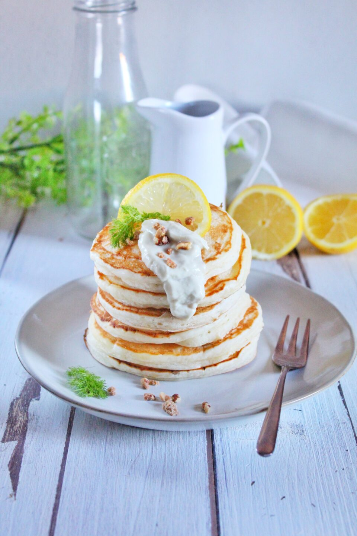 (Italiano) Pancakes vegani al limone