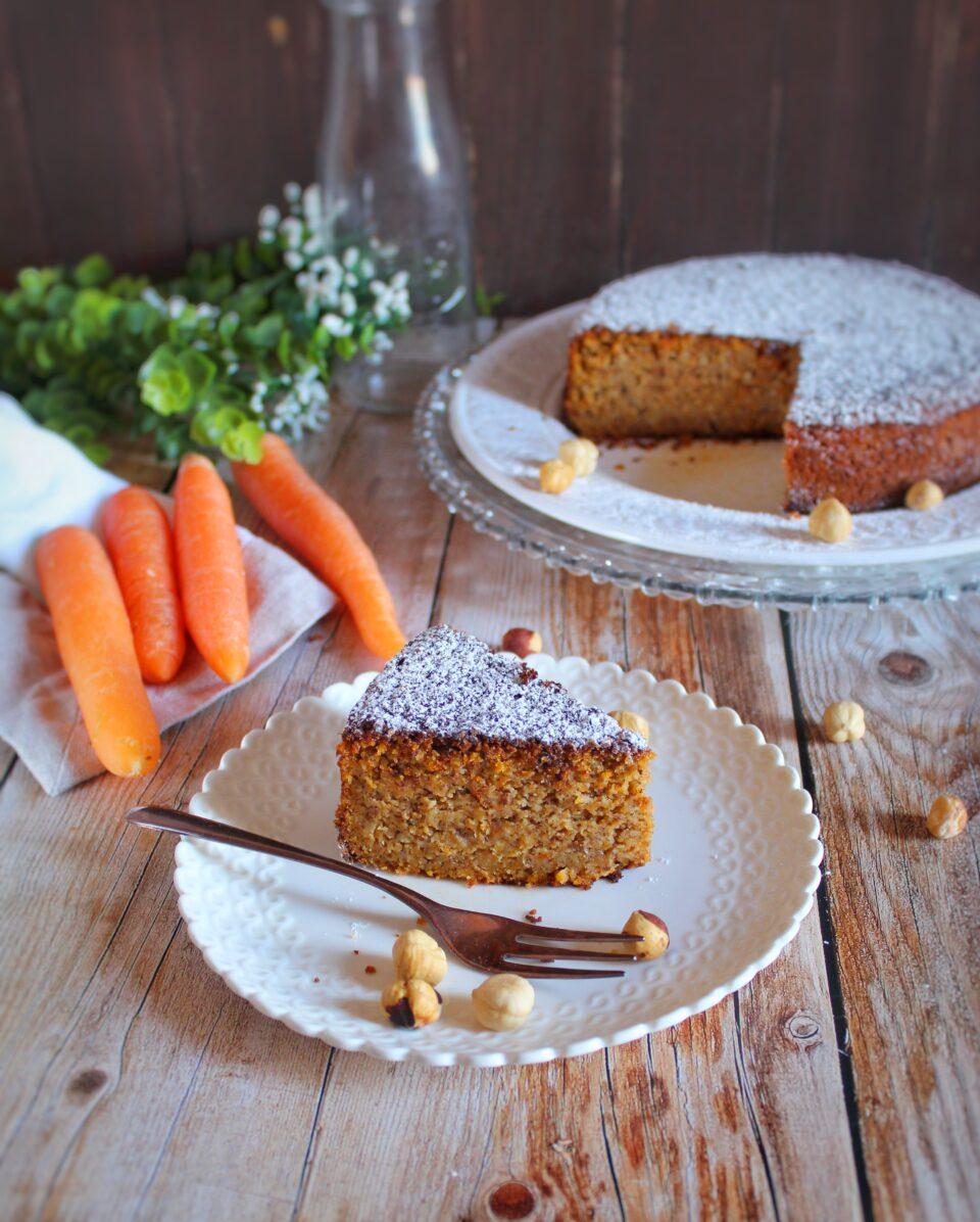 (Italiano) Torta carote e nocciole