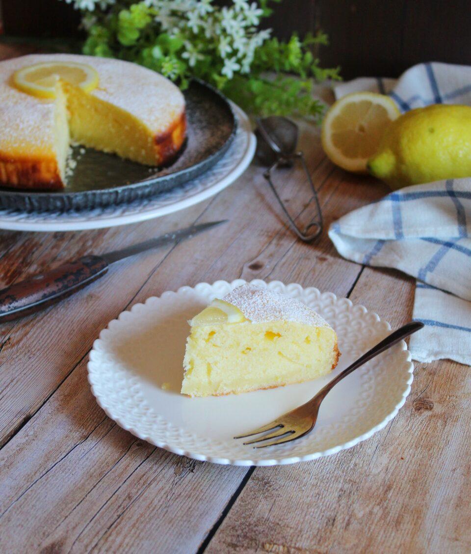 (Italiano) Torta con limone e ricotta